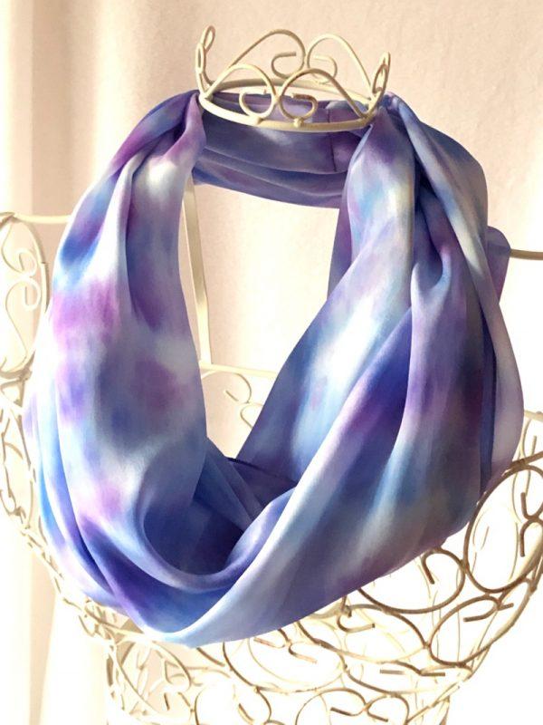 large long snood loop scarf