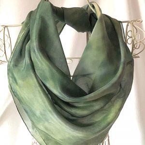 green square scarf