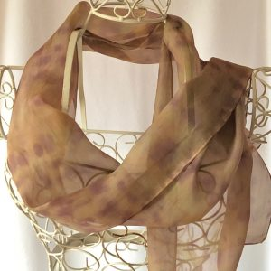 long brown scarf